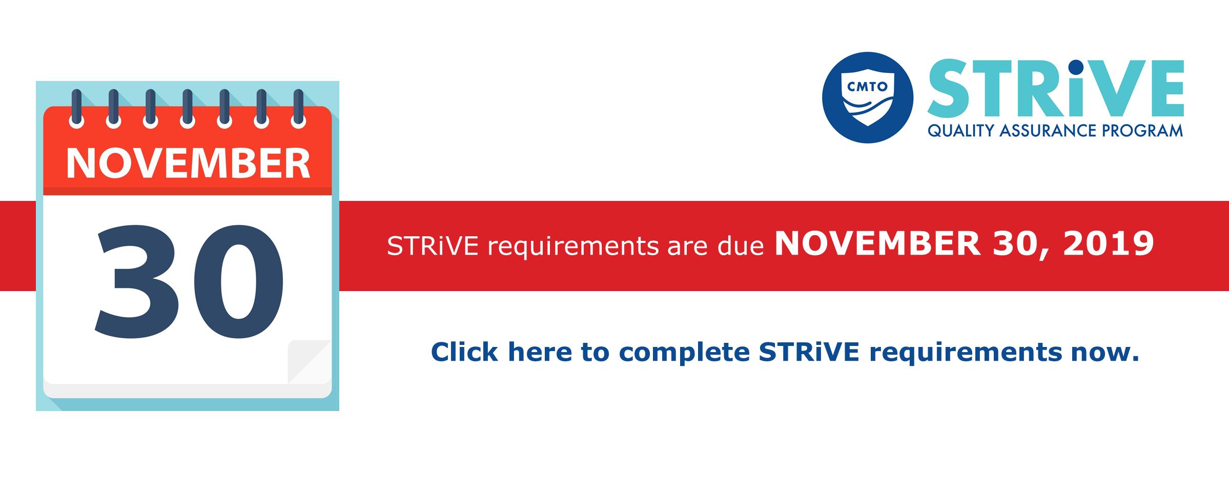STRiVE slider 2019