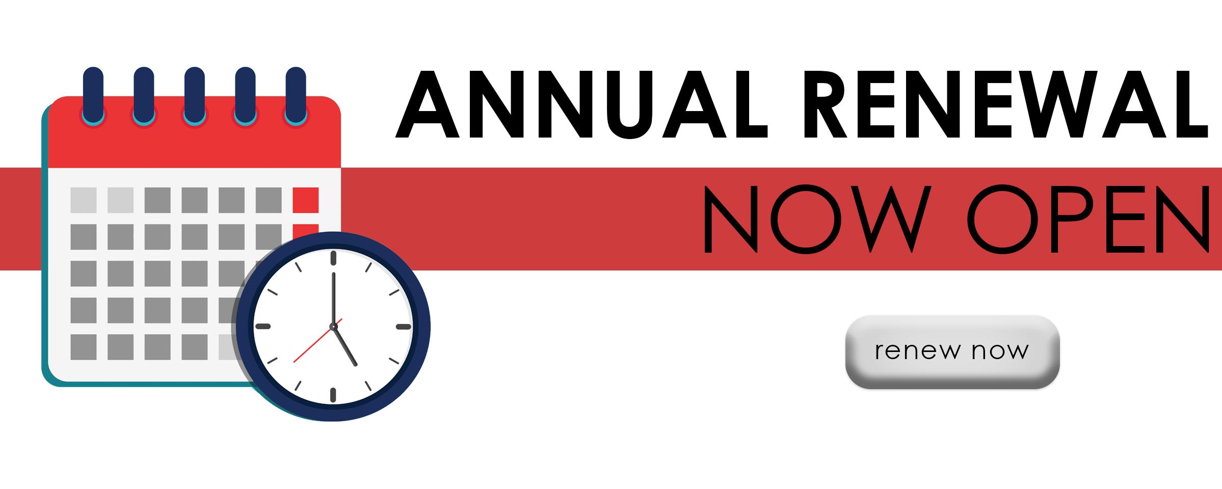 2021 Annual Renewal