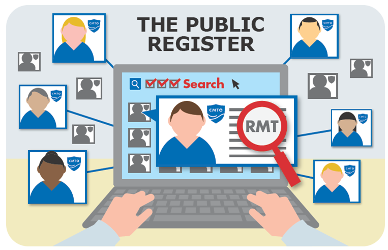 The Public Register - College of Massage Therapists of Ontario